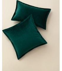 poszewka dekoracyjna butelkowy zielony velvet