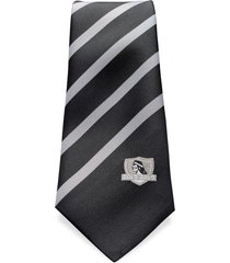 corbata colo-colo negra rayas sederías santiago