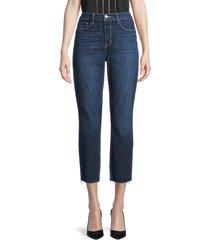 l'agence women's sada high-rise cropped slim jeans - utica - size 23 (00)