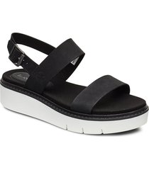 safari dawn 2 band sandal shoes summer shoes flat sandals svart timberland