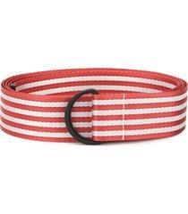 botter twill belt - red
