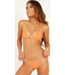 showpo kym bikini bottom in sherbet - 20 (xxxxl) bikini sets