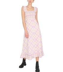 ganni long dress