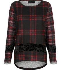 topp amy vermont svart::röd::grå