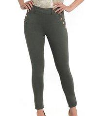 jeans botones militar bunnys