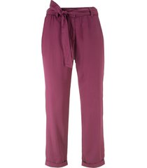 pantaloni con pinces (viola) - bpc bonprix collection