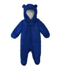 outerstuff infant st. louis blues fleece hooded footie coverall