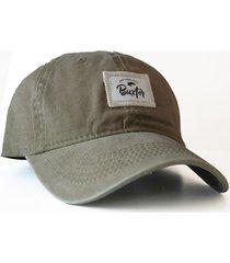 gorra  verde buxter cap talls