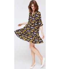 sukienka amel we wzór