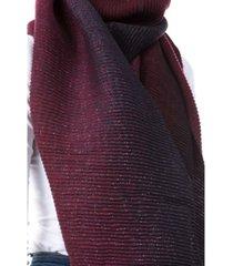 women's pleated lurex scarf