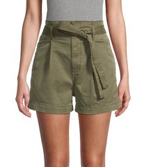 camille paperbag waist shorts