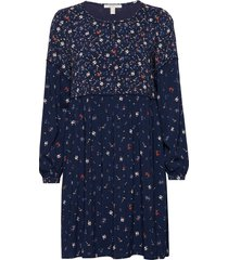 dresses light woven jurk knielengte blauw esprit casual