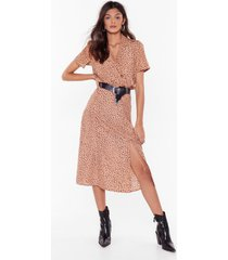 womens spot you looking at bias cut midi skirt - taupe