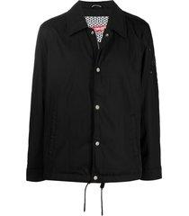 moose knuckles latterman jacket - black