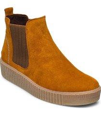 ankle boot shoes boots ankle boots ankle boots flat heel brun gabor