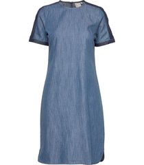 casual dress kort klänning blå brandtex
