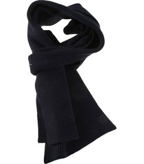 maison margiela knit plain scarf