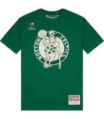 nba boston celtics worn logo t-shirt