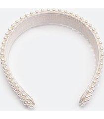 samantha pearl headband - ivory