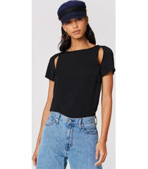 cheap monday moving top - black
