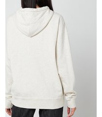 isabel marant étoile women's mansel hooded sweatshirt - ecru - fr 40/uk 12
