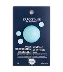 l'occitane máscara facial hidratante aqua réotier