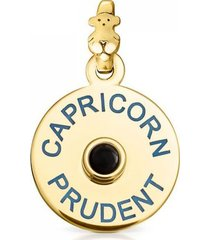 colgante tous horoscopes capricornio de plata con onix 814984530