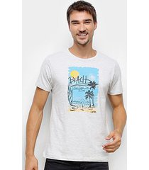 camiseta gajang beach masculina - masculino