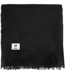 bufanda negra mistral premium otto