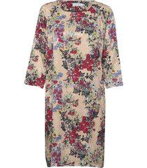 dress in winter berry print w. ragl jurk knielengte multi/patroon coster copenhagen
