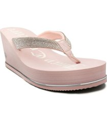 juicy couture women's ultra wedge thong sandal women's shoes