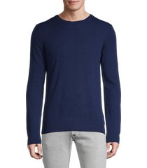 j. lindeberg men's cashmere crewneck sweater - grey - size xxl