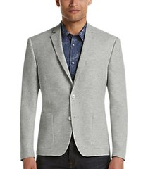 james tattersall kings cross heather gray extreme slim fit sport coat