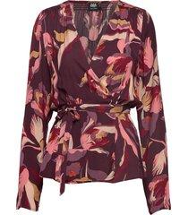 isabel blouse blouse lange mouwen rood twist & tango