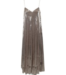 fabiana filippi glossy sequined dress