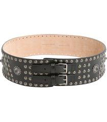 alexander mcqueen double buckle waist belt