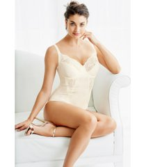 maidenform women's firm control embellished unlined shaping bodysuit1456