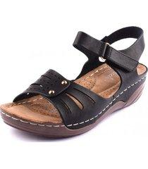 sandalia ariane negro weide
