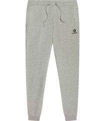 converse pantalón star chevron embroidered para hombre grey