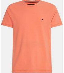 tommy hilfiger men's big and tall organic cotton stretch t-shirt summer sunset - 5xlt