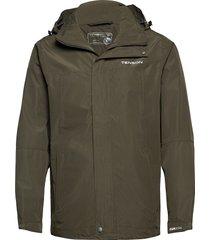 monitor m jacket regnkläder grön tenson