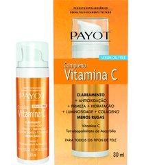 sérum facial anti-idade complexo vitamina c 30ml - payot único