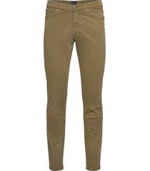 slim desert jeans slimmade jeans grön gant