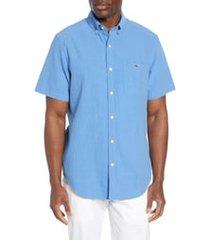 men's vineyard vines tucker classic fit seersucker shirt