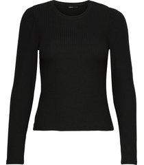 onlemma l/s puff top jrs t-shirts & tops long-sleeved svart only