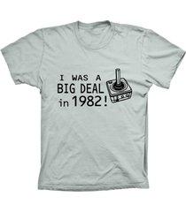 camiseta lu geek manga curta big deal prata