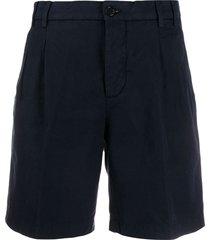 aspesi classic tailored shorts - blue