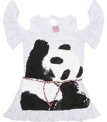 vestido blanco cante pido maria panda