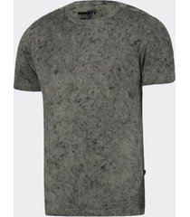 camiseta burnett mescla cinza masculina