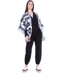kimono ticantê lenço feminino